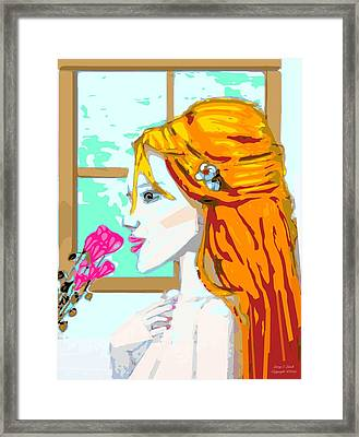 For Mee Framed Print by Larry E Lamb