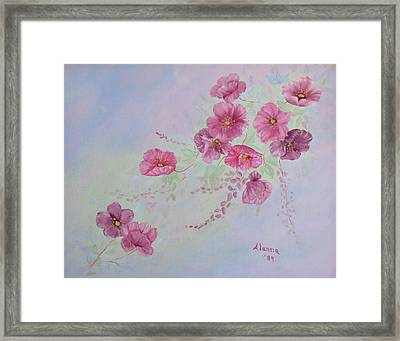 For Mom And Dad Framed Print by Alanna Hug-McAnnally