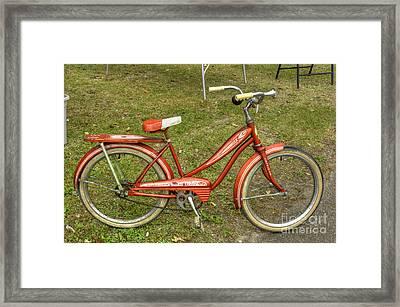 For Mrs Pee Wee Framed Print by David Bearden
