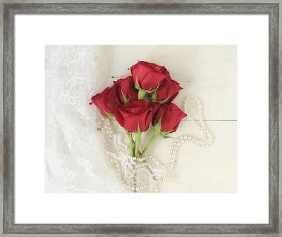 For My Love Framed Print