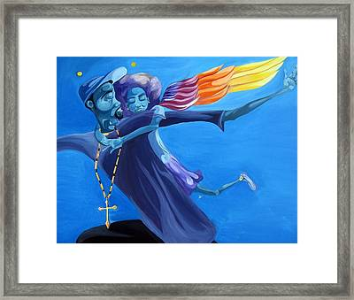 For My Negus With Daughters Framed Print by JaFleu