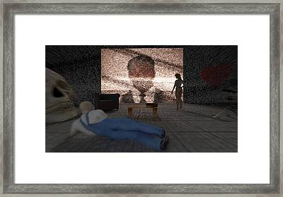 For Our Protection Framed Print by Brainwave Pictures