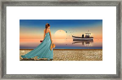 For Rendezvous Framed Print by Monika Juengling