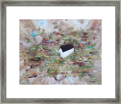 Framed Print featuring the painting For Sheila by Judith Rhue