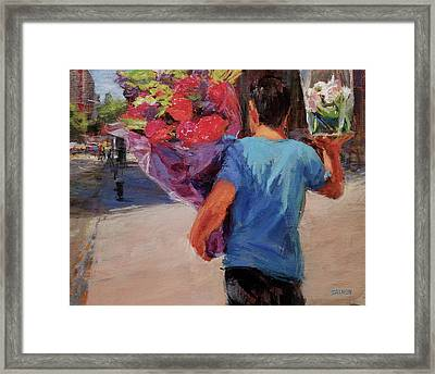 For Someone Special Framed Print by Peter Salwen