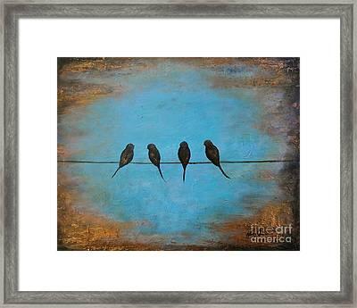 For The Birds Framed Print