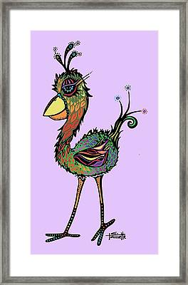 For The Birds Framed Print by Tanielle Childers