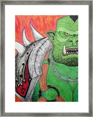 For The Horde Framed Print by Dalton Batastini