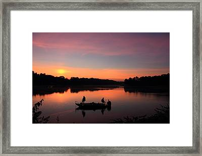 For The Love Of Fishing 2 Framed Print