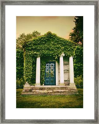 For The Love Of Ivy Framed Print by Jessica Jenney