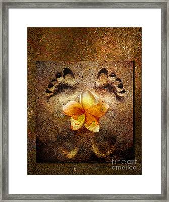 For The Love Of Me Framed Print by Jacky Gerritsen