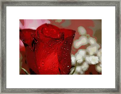 For The Love Of My Life Framed Print