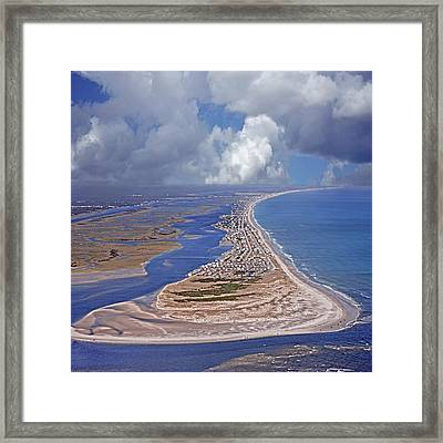 Best Kept Secret Aerial Shhh Framed Print by Betsy Knapp