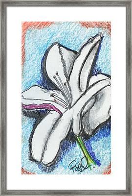 ...for The Teacher Framed Print