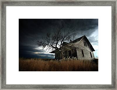 For Those Who Dare Framed Print