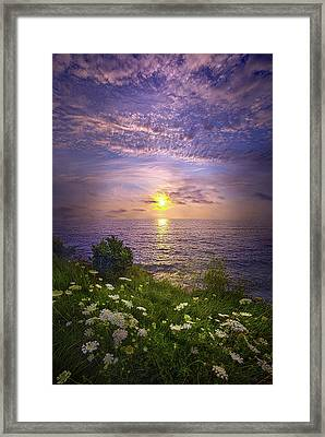 For Those Who Love, Time Is An Eternity Framed Print