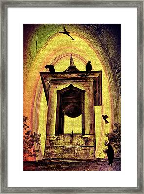 For Whom The Bell Tolls Framed Print by Bill Cannon