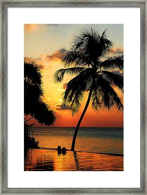 For You. Dream Comes True. Maldives Framed Print by Jenny Rainbow