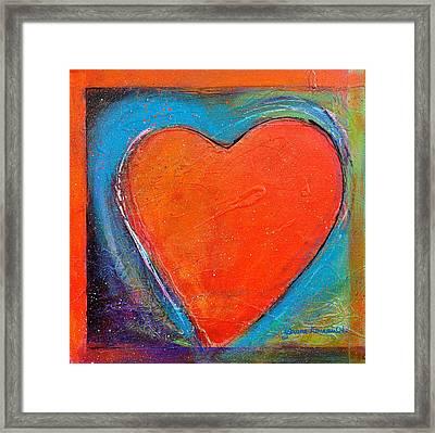 For You Heart 2 Framed Print by Johane Amirault