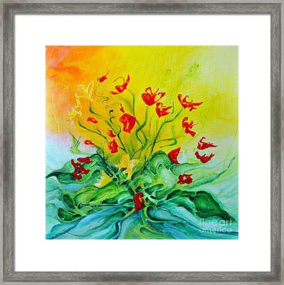 For You Framed Print by Teresa Wegrzyn