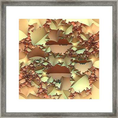 Framed Print featuring the digital art For Your Wall by Lyle Hatch