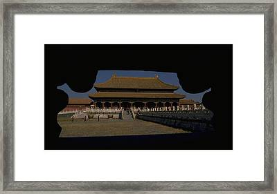 Forbidden City, Beijing Framed Print
