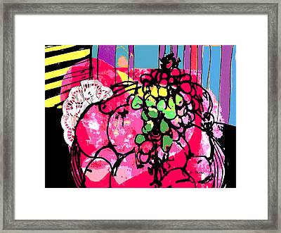 Forbidden Fruit Framed Print by Betty Pehme