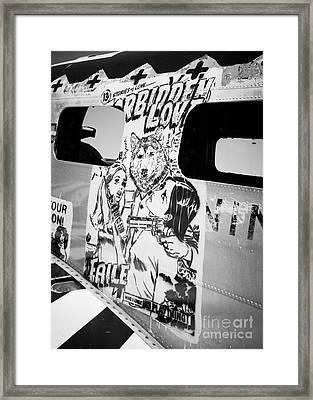 Framed Print featuring the photograph Forbidden Love by Chris Dutton