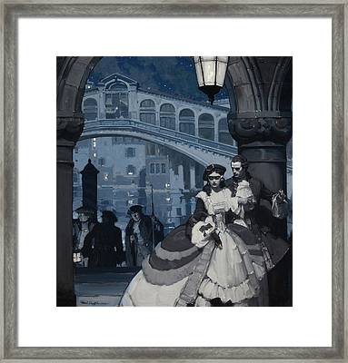 Forbidden Lover Framed Print