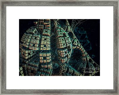 Forbidden Planet Framed Print by Melissa Messick