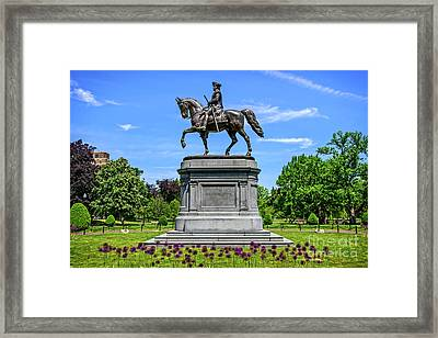 Force And Vigor Framed Print by Charles Dobbs