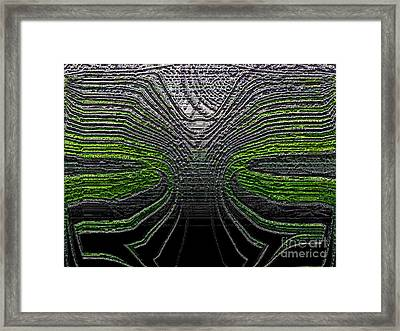 Force Lines Framed Print by Patrick Guidato