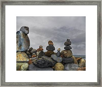 Force Of Adherence Framed Print
