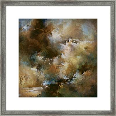 Force Of Nature Framed Print by Michael Lang