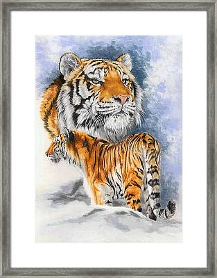 Forceful Framed Print by Barbara Keith