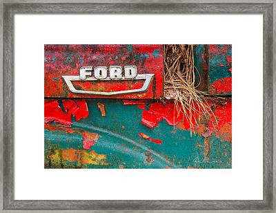 Ford 2070 Framed Print