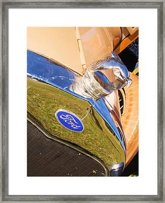 Ford Framed Print by Anna Thomas