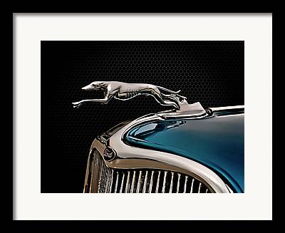 Hood Ornament Digital Art Framed Prints