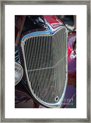 Ford Classic Hotrod Framed Print by Mike Reid
