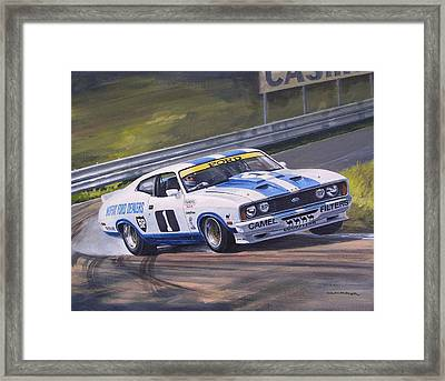 Ford Cobra - Moffat Racing  Framed Print