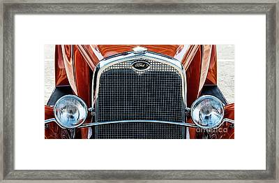 Framed Print featuring the photograph Ford Coupe by Brad Allen Fine Art