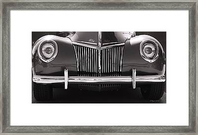 Ford Delux Framed Print by Melisa Meyers