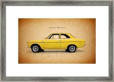 Ford Escort Mexico Framed Print