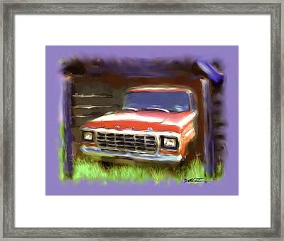 Ford F150 Framed Print