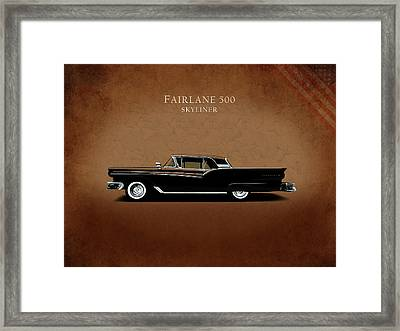 Ford Fairlane 500 1957 Framed Print