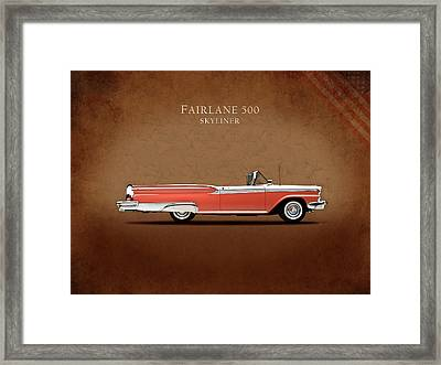 Ford Fairlane 500 1959 Framed Print