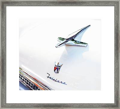 Ford Fairlane Classic Framed Print by Theresa Tahara