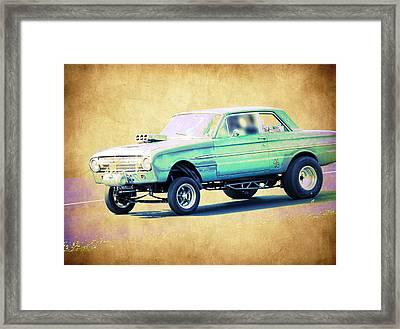Ford Falcon Gasser Framed Print by Steve McKinzie