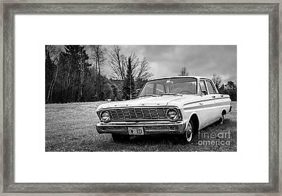 Ford Falcon Sedan Framed Print by Edward Fielding