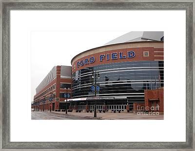 Ford Field Framed Print